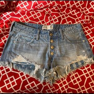 Denim Abercrombie & Fitch Shorts